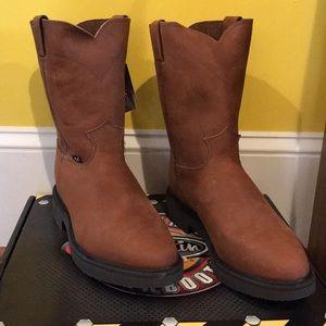 Nwt Justin Wellington Work Boots   Poshmark